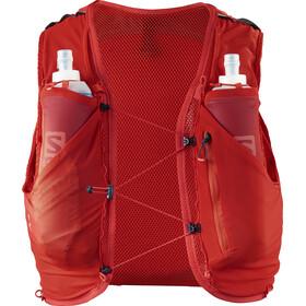 Salomon Adv Skin 5 Backpack Set Herre fiery red
